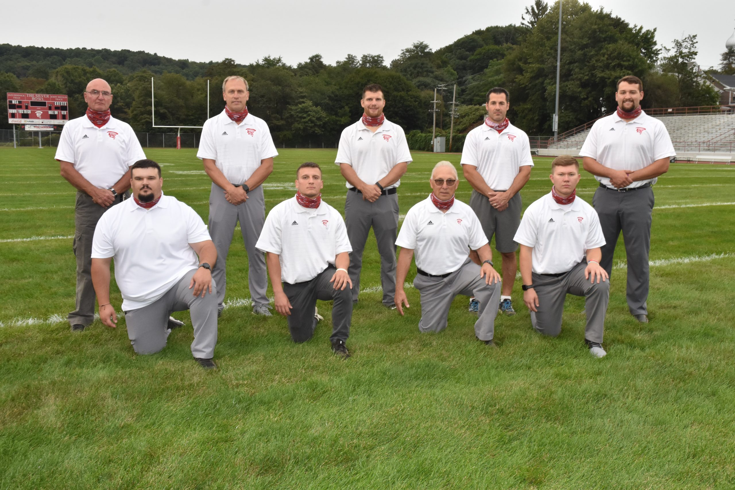 2017 Mount Carmel Area Football Coaching Staff