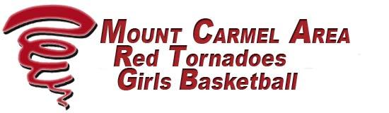 Mount Carmel Area Red Tornadoes Girls Basketball