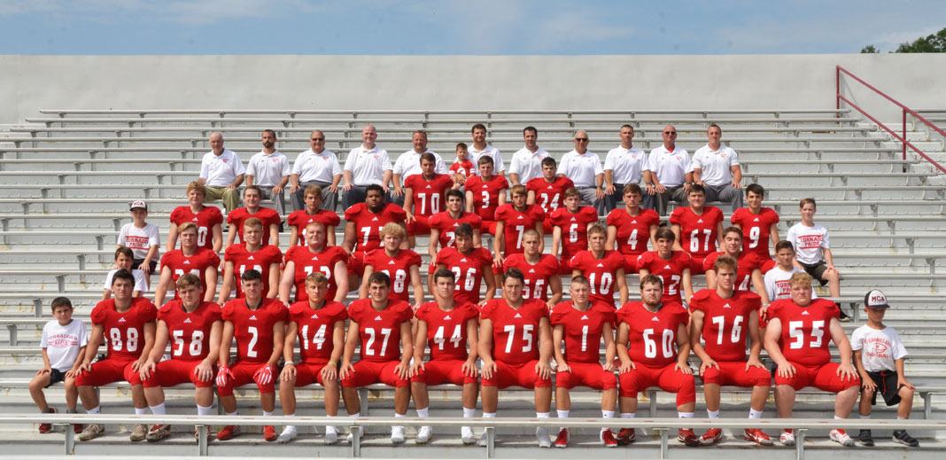 2018 Mount Carmel Area Red Tornadoes