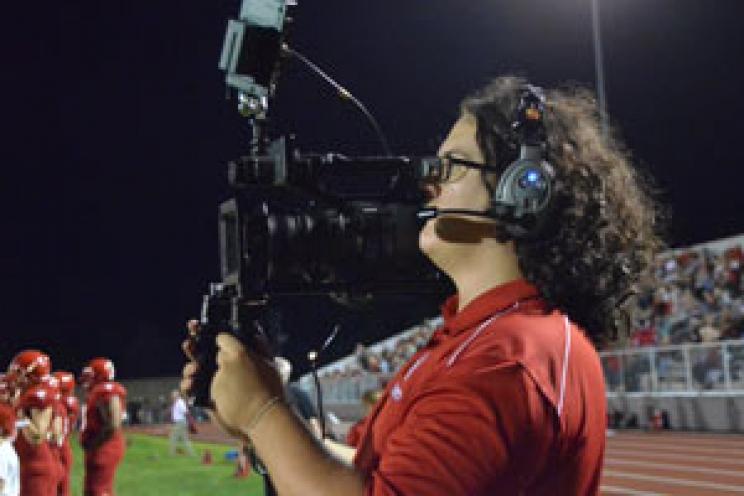 Shoulder Mount Operator at MCA Football Game