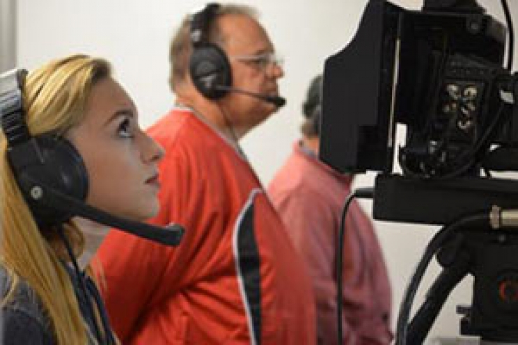 Camera Operator at MCA Football Game